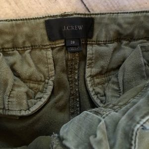 J. Crew Pants - J.Crew Women's Chino Pants, Size 28, Army Green